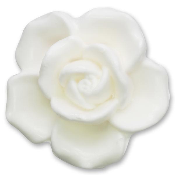 """Pflanzenölseife Rose """"Luxus"""" 125g weiß (made in EU)"""