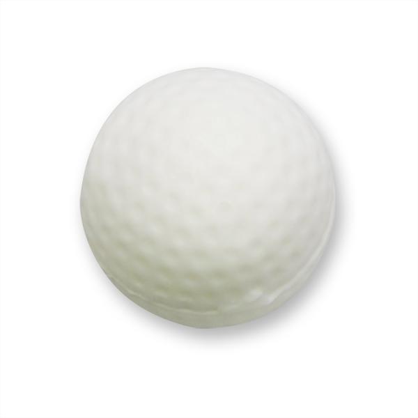 Pflanzenölseife Golfball 40g weiß (made in EU)