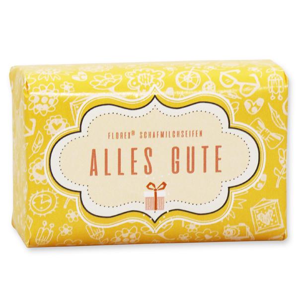 """Schafmilchseife 100g """"Alles Gute"""", Zitrone"""