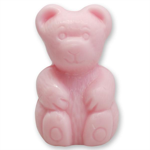 Pflanzenölseife Bär 90g rosa (made in EU)