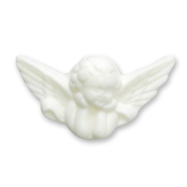 Pflanzenölseife Engel 25g weiß (made in EU)