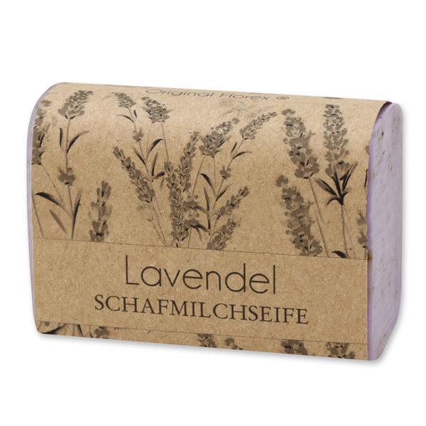 """Schafmilchseife eckig 100g """"blühendes Erwachen"""", Lavendel"""