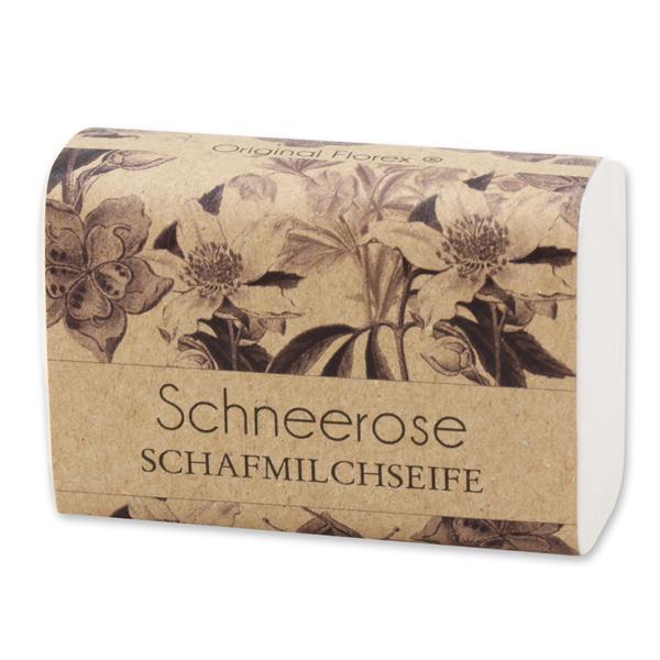 """Schafmilchseife eckig 100g """"blühendes Erwachen"""", Schneerose"""