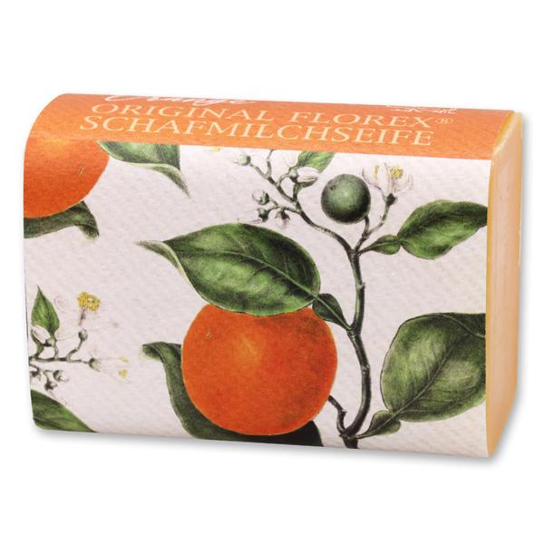 Schafmilchseife eckig 100g, Orange