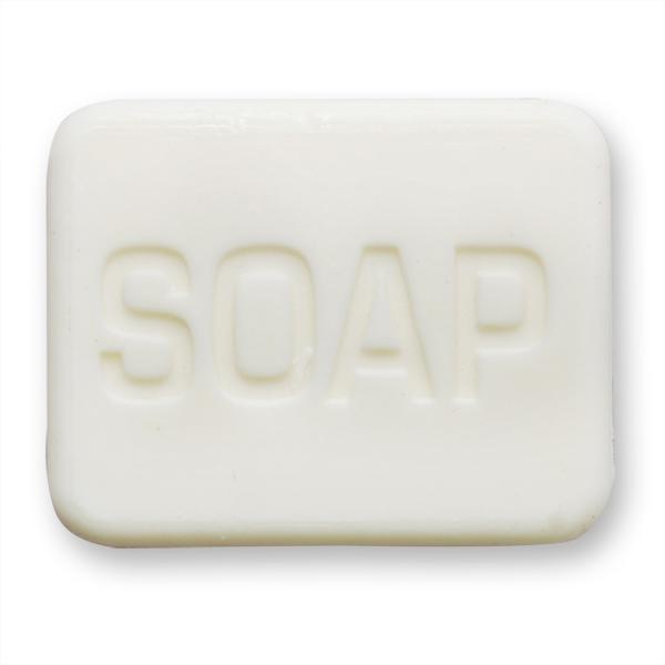"""Pflanzenölseife Hotelseife """"Soap"""" 25g weiß (made in EU)"""