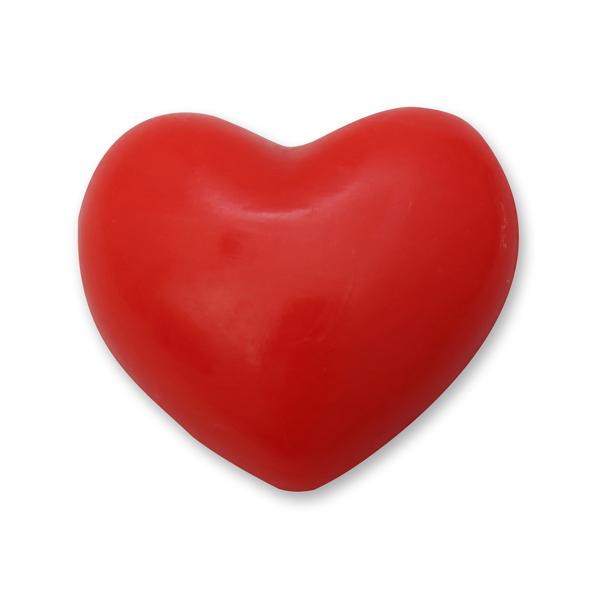 Sheep milk soap heart round 30g, Pomegranate
