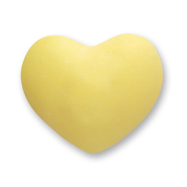 Schafmilchseife Herz mollig 30g, Zitrone