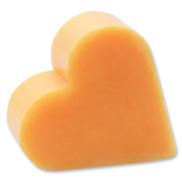 Sheep milk soap heart 85g, Orange