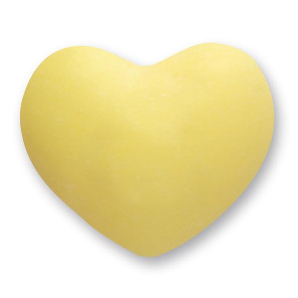 Schafmilchseife Herz mollig 60g, Zitrone