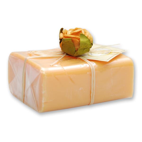 Schafmilchseife eckig 100g 1er verpackt, Orange