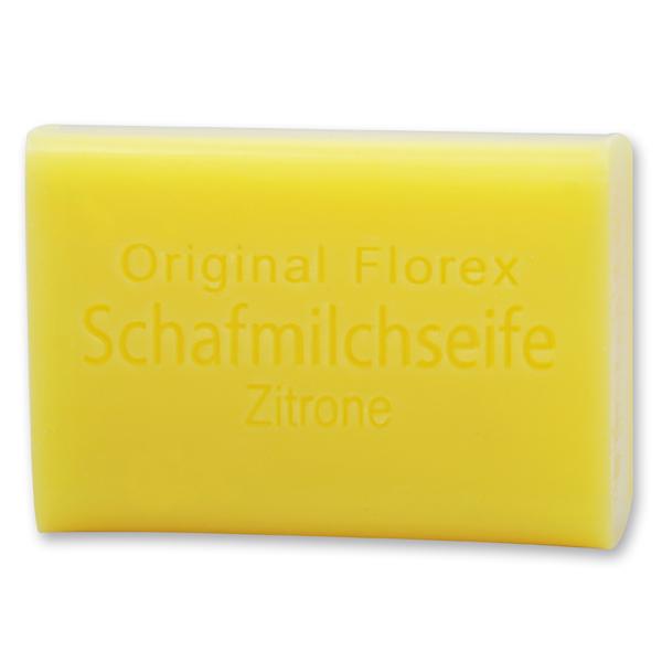 Schafmilchseife eckig 100g, Zitrone
