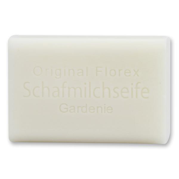 Schafmilchseife eckig 100g, Gardenie