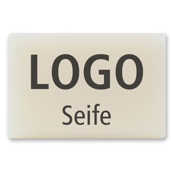 Schafmilchseife eckig 100g, Individuelles Logo