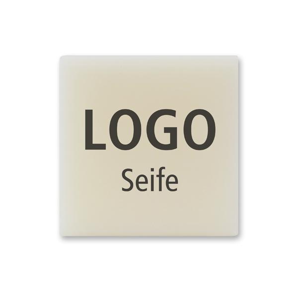 Schafmilchseife Gästeseife 35g, Individuelles Logo