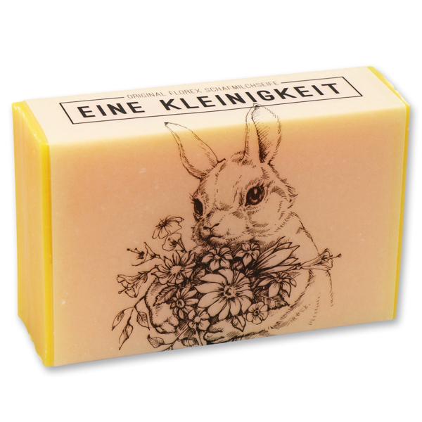 """Schafmilchseife eckig 150g """"Eine Kleinigkeit"""", Honig"""