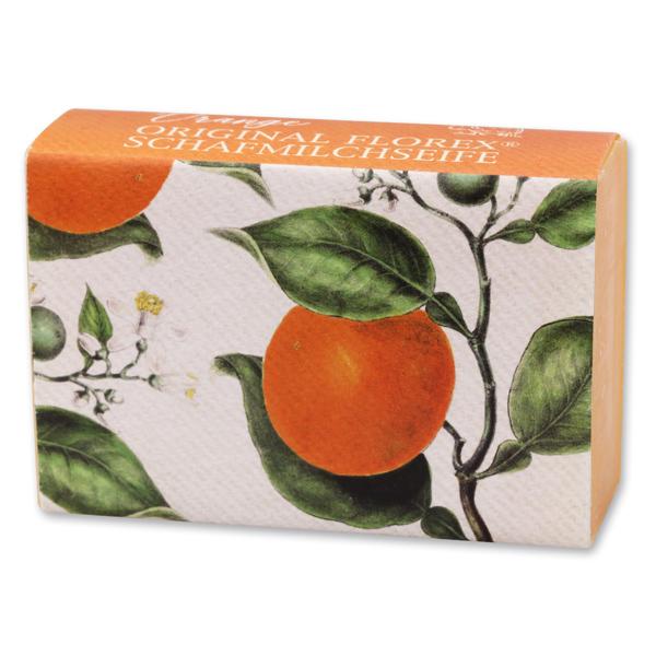 Schafmilchseife eckig 150g, Orange