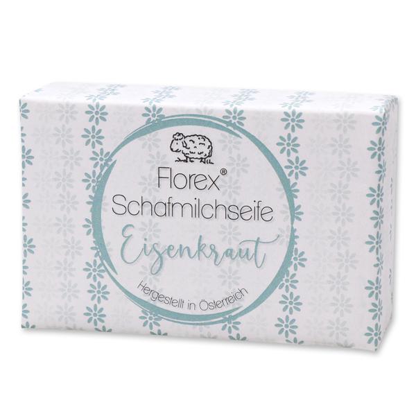 """Schafmilchseife eckig 150g """"lieblich"""", Eisenkraut"""