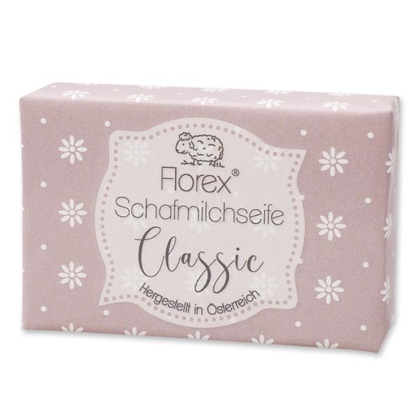"""Schafmilchseife eckig 150g """"lieblich"""", Classic"""