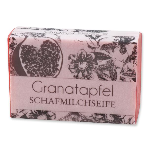"""Schafmilchseife eckig 150g """"blühendes Erwachen"""", Granatapfel"""