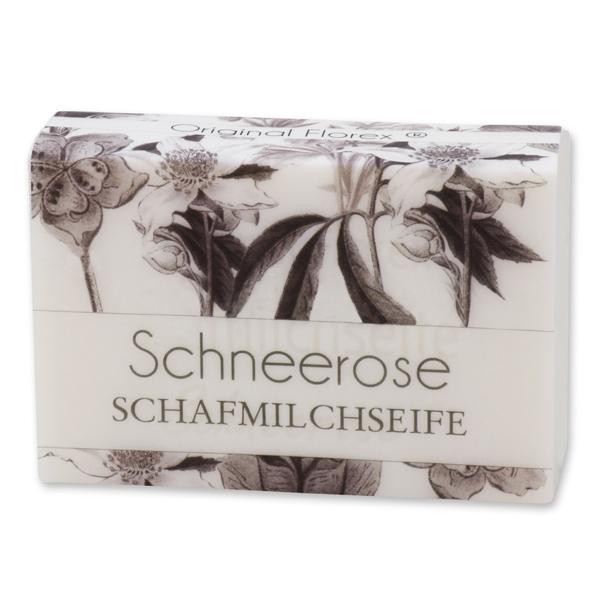 """Schafmilchseife eckig 150g """"blühendes Erwachen"""", Schneerose"""