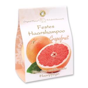 Festes Haarshampoo mit Schafmilch 58g in Papier-Tasche, Grapefruit