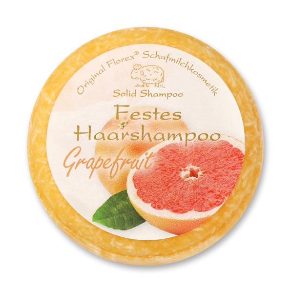 Festes Haarshampoo mit Schafmilch 58g in Folie, Grapefruit