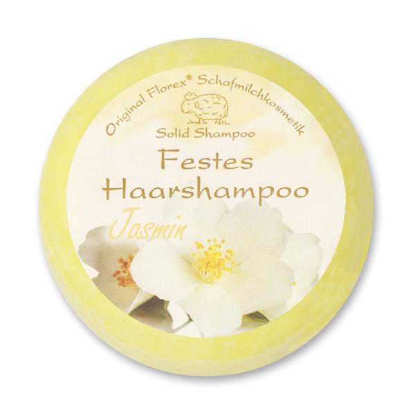 Festes Haarshampoo mit Schafmilch 58g in Folie, Jasmin