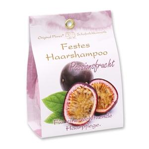 Festes Haarshampoo mit Schafmilch 58g in Papier-Tasche, Passionsfrucht