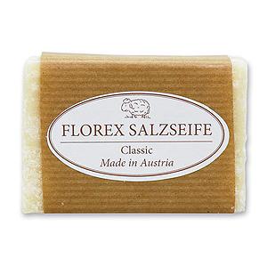 Spezialseife kaltgerührt 100g braunes Papier, Salzseife Classic