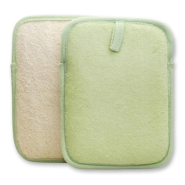 Massagelappen, grün