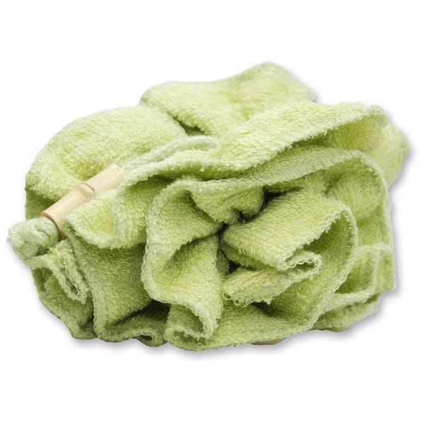 Waschlappen - Rose, grün