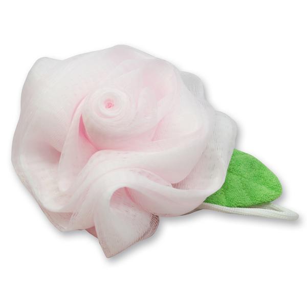Duschpuschel Rose, rosa