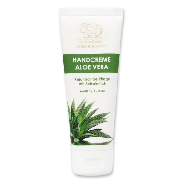 Handcreme mit biologischer Schafmilch 75ml, Aloe Vera