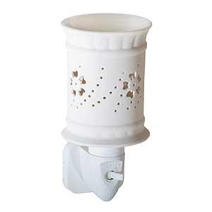 Candle-Lite elektrischer Duft-Tart Wärmer und Nachtlicht, Sula