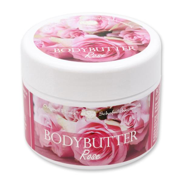 Bodybutter mit biologischer Schafmilch 125ml, Rose