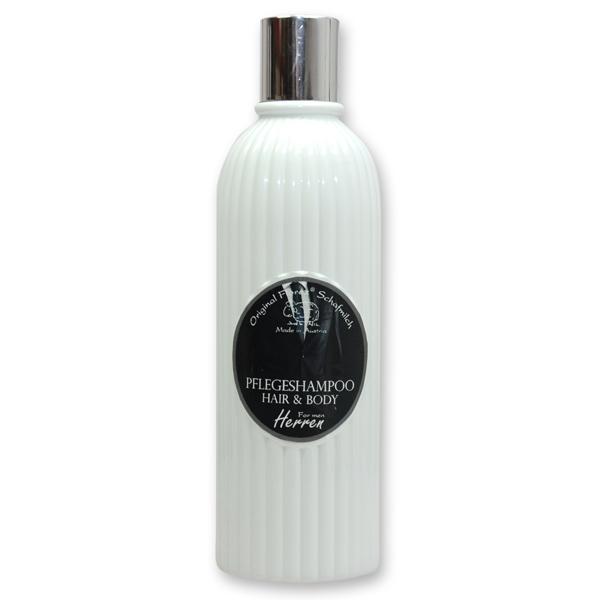 Pflegeshampoo Hair&Body mit biologischer Schafmilch 330ml in der Flasche, Herren
