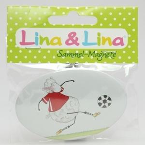 "Lina's Magnet in Cello, ""Glückstreffer"""