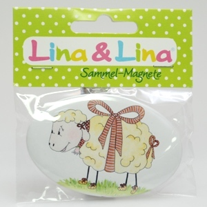 "Lina's Magnet in Cello, ""Schafmilch-Lina"""
