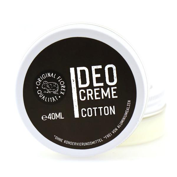 Deodorant Cream 40ml black, Cotton