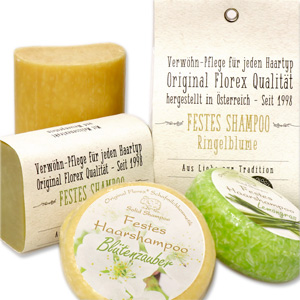 solid shampoo and hair soap
