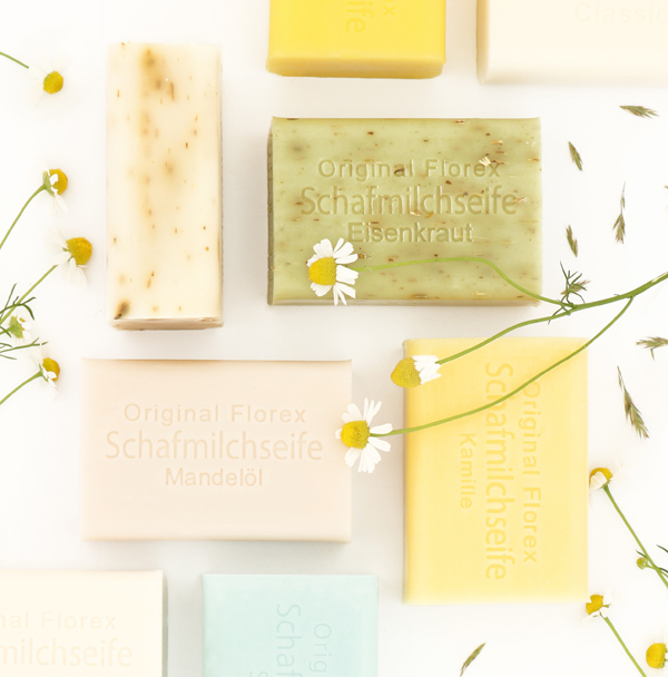 Sheep milk soaps