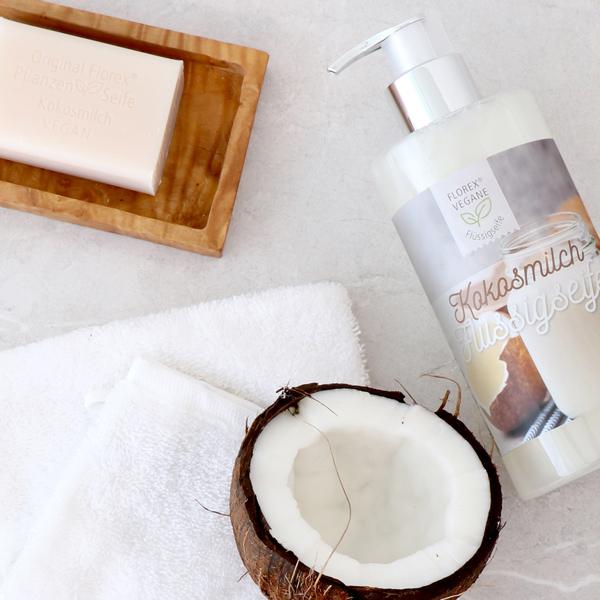 Plant milk soaps